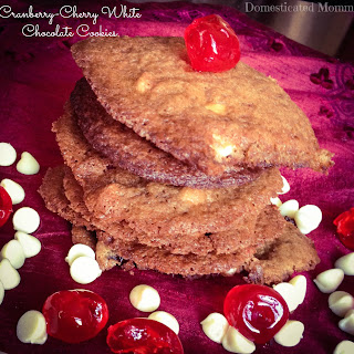 Cranberry-Cherry White Chocolate Cookies