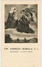Photo: Obrazek o wym. 6.5 x 11 cm. Na odwrocie modlitwa. WAM Kraków i logo.