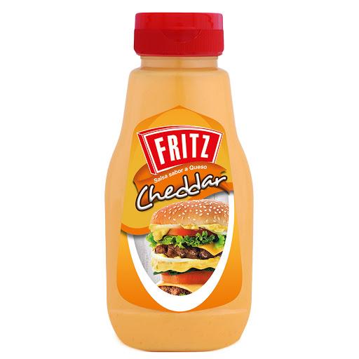salsa fritz queso cheddar 240gr