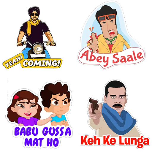 Indian Stickers - WASticker