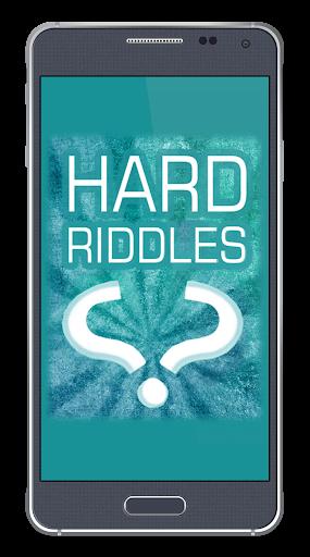 Hard Riddles - What am I
