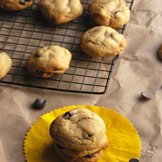 Malted Sea Salt Dark Chocolate Chip Cookies