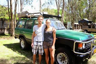 Photo: Richard & Annouk from the Netherlands, Karen Camp, Nairobi