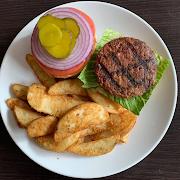 Beyond Meat Burger & Fries