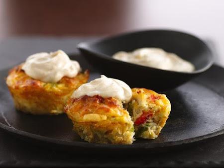 Mini Crab Muffins Recipe