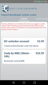 Huawei Bootloader Unlock App Tool For Free - Premium Android