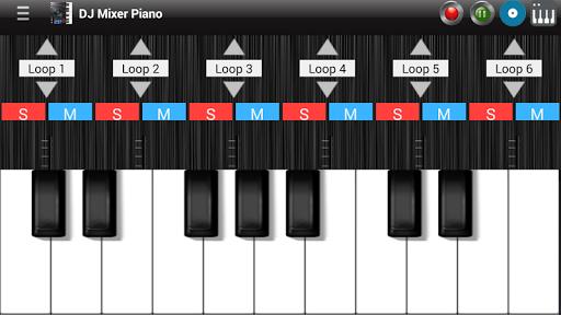 Professional Piano DJ Mixer