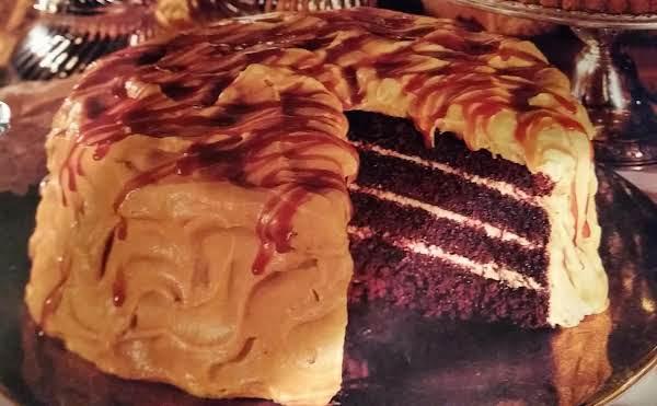Chocolate Bourbon Cake W/caramel Whipped Cream Recipe