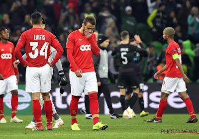 Le Standard s'est entraîné à Saint-Trond, sans l'un de ses attaquants