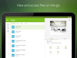 Screenshot of Citrix ShareFile for Tablets
