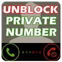 Unblock Private Number icon