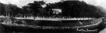 Photo: Casa do Visconde de Mauá, fotografada por Santos Dumont. Foto do início do século XX