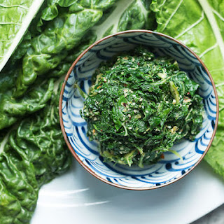 Japanese-Style Swiss Chard and Sesame Salad.