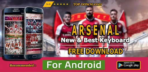 New Keyboard For The Gunners Theme Football 2019 on Windows PC