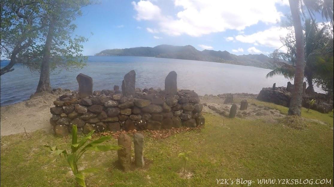 Le tombe dei polinesiani - Taha'a
