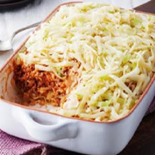 Unstuffed Cabbage Rolls Casserole