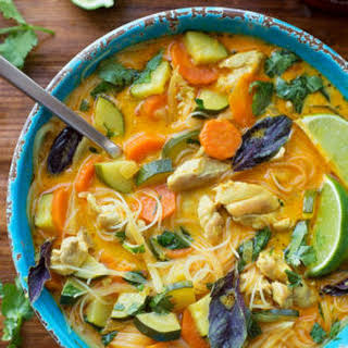 Curried Chicken Noodle Soup.