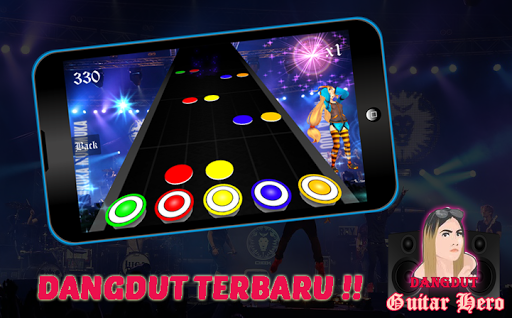 Dangdut Guitar Hero 1.0 screenshots 1