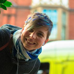 z by Kiril Kolev - People Street & Candids ( portrait and people, fashion, model, colorful, street art, street scene )