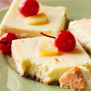 130 Calorie Greek Yogurt Pineapple Bars.