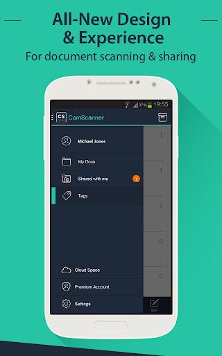 CamScanner HD - Scanner, Fax 3.2.0.20140327 screenshots 1