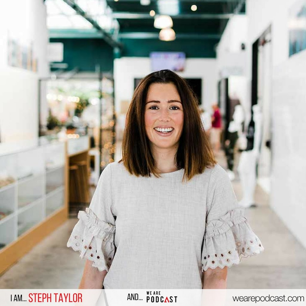 Steph Taylor We Are Podcast