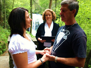 Photo: Dry Falls Elopement - Highlands, NC - http://WeddingWoman.net