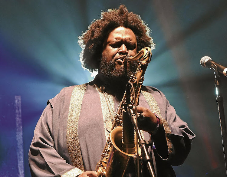 Kamasi Washington. Picture: SUPPLIED