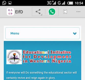 Edu Initiative for Development - náhled