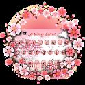 Pink Spring Keyboard Theme icon