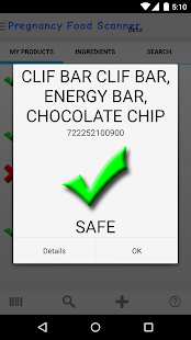 Pregnancy Food Scanner- screenshot thumbnail