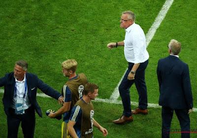 """Le coach de la Suède fulmine: """"Ça ne se fait pas"""""""