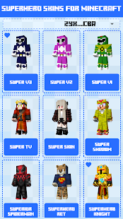Superhero Skins for Minecraft PE 🎮 11