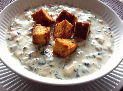 """Chicken Florentine Soup """"Pinched this about a year ago have been making..."""
