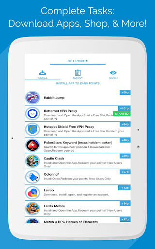 RollPoints - Earn Free Gift Cards & Free Money App Report on