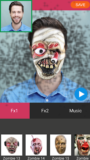 Zombie Booth Video Maker 1.2 screenshots 7