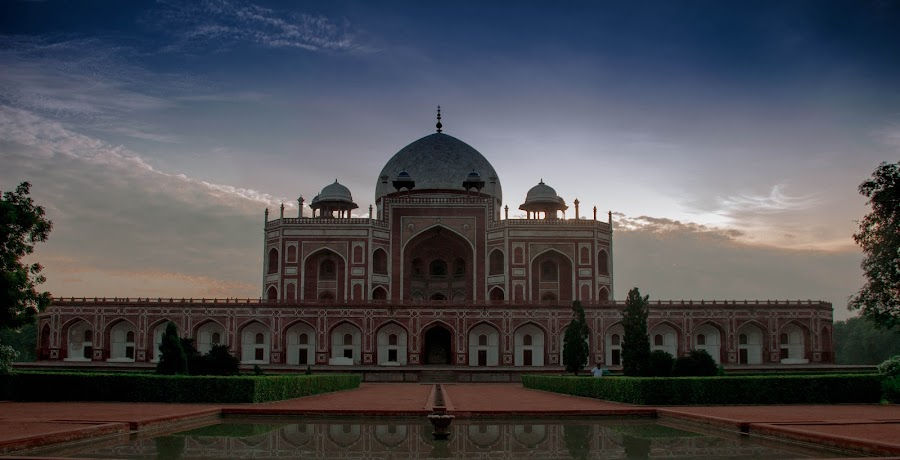 Humanyun's Tomb, Delhi  by Mandeep Singh - Buildings & Architecture Public & Historical ( canon, tomb, humanyun, mughal, delhi )