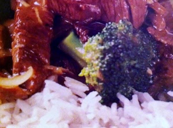 Stirfry Beef And Broccoli Recipe