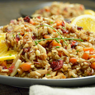 Moroccan Rice Pilaf.