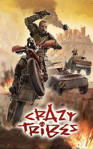 Code Triche Crazy Tribes - MMO de stratu00e9gie apocalyptique APK MOD screenshots 1