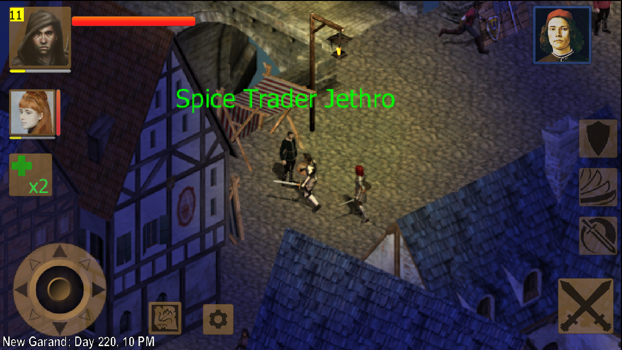 Exiled Kingdoms RPG- screenshot