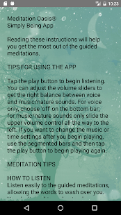 Simply Being Guided Meditation- screenshot thumbnail