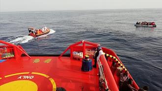 Imagen de archivo del Twitter de Salvamento Marítimo.