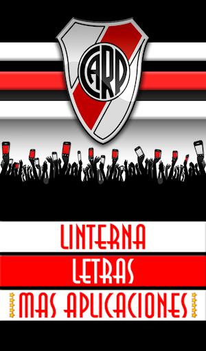 Linterna LED: River Plate