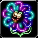 Kids Glow Draw : Doodle icon