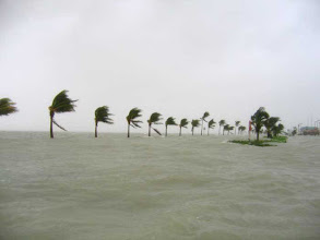 Photo: Hurricane Wilma, Key West, October 24, 2005.  The most serious hurricane here since 1998:  60% of the island was underwater, hit by two separate water surges that were up to six feet high in some peoples' homes.