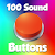 100 Sound Buttons file APK for Gaming PC/PS3/PS4 Smart TV