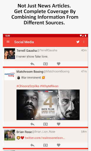 Boxing News, Videos, & Social Media 3.7 screenshots 8