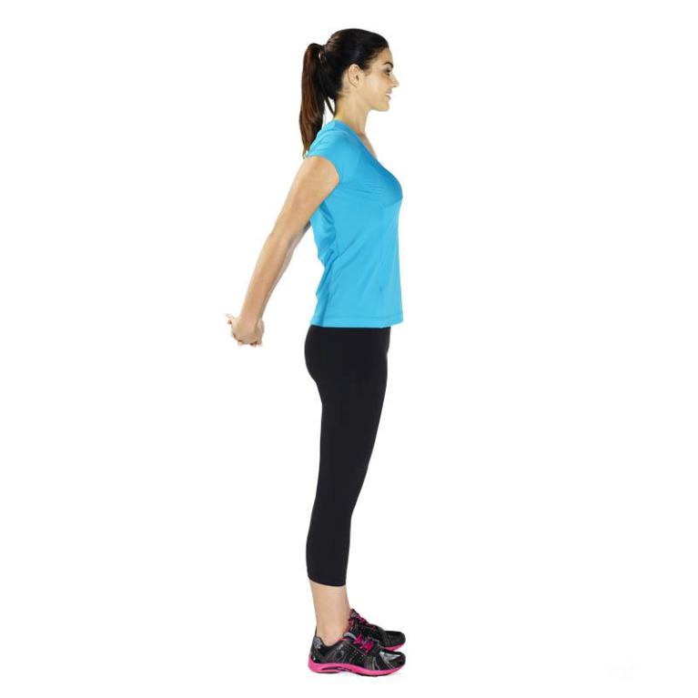 standing shoulder pose