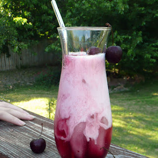 Maple Cherry Italian Cream Sodas